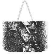 The Piano Has Been Drinking Weekender Tote Bag
