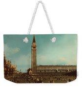 The Piazza San Marco Venice Weekender Tote Bag