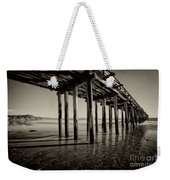 The Pier At Cayucos Weekender Tote Bag