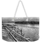 The Pier At Channel 4 Weekender Tote Bag