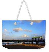 The Pier At Lauderdale By The Sea Weekender Tote Bag