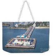 The Pier St Petersburg Florida Weekender Tote Bag