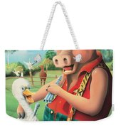 The Pig & Whistle Weekender Tote Bag