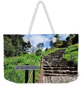 The Pilgrims' Steps Weekender Tote Bag