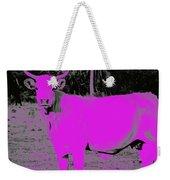 the Pink Cow Weekender Tote Bag