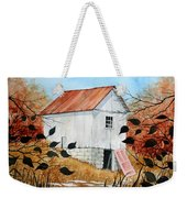 The Pink Door Weekender Tote Bag