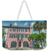 The Pink House Weekender Tote Bag