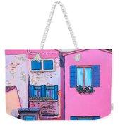 The Pink House Weekender Tote Bag