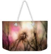 The Pink Light Weekender Tote Bag