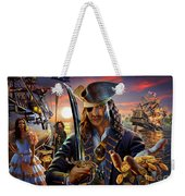 The Pirate Weekender Tote Bag by Adrian Chesterman