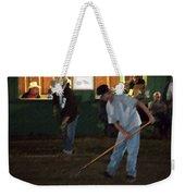 The Pit Crew Weekender Tote Bag