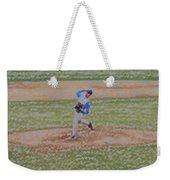The Pitcher Digital Art Weekender Tote Bag by Thomas Woolworth