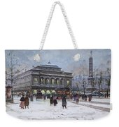 The Place Du Chatelet Paris Weekender Tote Bag
