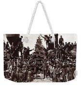 The Placing Of The Golden Star Weekender Tote Bag