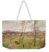 The Plain At Gennevilliers Weekender Tote Bag