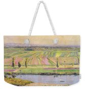 The Plain Of Gennevilliers From The Hills Of Argenteuil Weekender Tote Bag