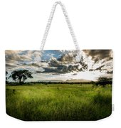 The Plains Of Africa Weekender Tote Bag