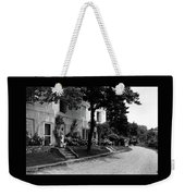 The Platt's House In New Jersey Weekender Tote Bag