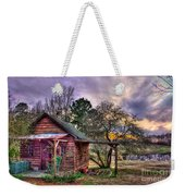 The Play House At Sunset Near Lake Oconee. Weekender Tote Bag