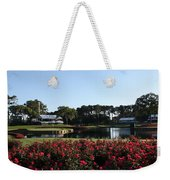 The Players - Tpc Sawgrass Island Green 17th Weekender Tote Bag