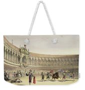 The Plaza Of Seville, 1865 Weekender Tote Bag