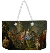 The Pleasures Of The Seasons     Spring Weekender Tote Bag by Johann Georg Platzer