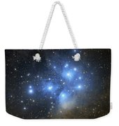 The Pleiades Open Star Cluster Weekender Tote Bag