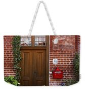 The Plumber's Home Weekender Tote Bag