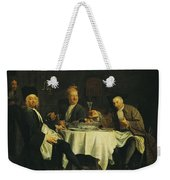 The Poet Alexis Piron 1689-1773 At The Table With His Friends, Jean Joseph Vade 1720-57 And Charles Weekender Tote Bag