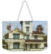 The Point Fermin Lighthouse Weekender Tote Bag