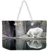 The Polar Bear And The Purple Chair Weekender Tote Bag