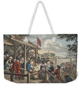 The Polling, Illustration From Hogarth Weekender Tote Bag