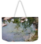 The Pond At The Top Of The Falls Weekender Tote Bag