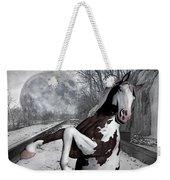 The Pony Express Weekender Tote Bag