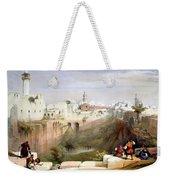 The Pool  Of Bethesda Jerusalem Weekender Tote Bag