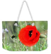 The Poppy And The Bee Weekender Tote Bag