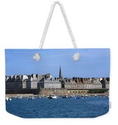 The Port Of St Malo France Weekender Tote Bag