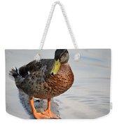 The Posing Duck Weekender Tote Bag