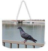 The Posing Pigeon Weekender Tote Bag