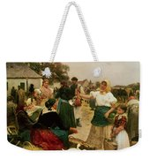 The Poultry Market Weekender Tote Bag