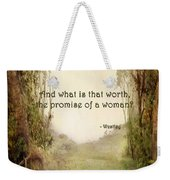 The Princess Bride - Promise Of A Woman Weekender Tote Bag