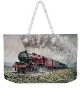 The Princess Elizabeth Storms North In All Weathers Weekender Tote Bag