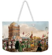 The Procession Of The Taziya, From The Weekender Tote Bag