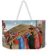 The Procession To Calvary Weekender Tote Bag