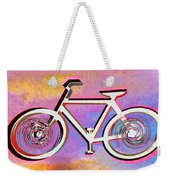 The Psychedelic Bicycle Weekender Tote Bag