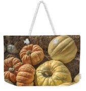 The Pumpkins Of Autumn Weekender Tote Bag