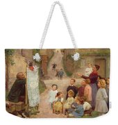 The Puppet Show Weekender Tote Bag