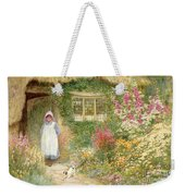 The Puppy Weekender Tote Bag by Arthur Claude Strachan