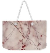 The Purr Of Autumn Weekender Tote Bag