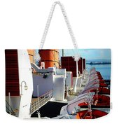 The Queen Mary  Weekender Tote Bag